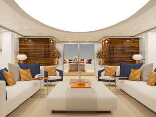 Yacht Hogar FX: Yacht & Jet in stile  di Fog - interiors,