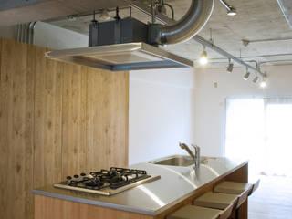 マンションリノベーション 121: モノスタ'70が手掛けたキッチンです。,オリジナル