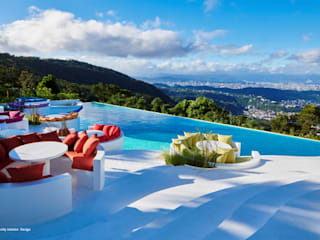 twelve 十二 屋頂上景觀餐廳新區域 根據 抱璞室內設計 熱帶風
