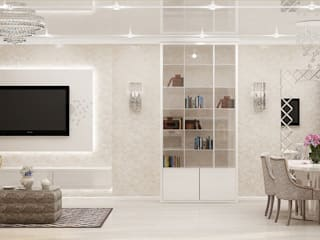Living room by Студия дизайна Натали