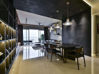 RESIDENSI 22 MONT' KIARA Minimalist dining room by HOO DESIGN RESOURCES Minimalist