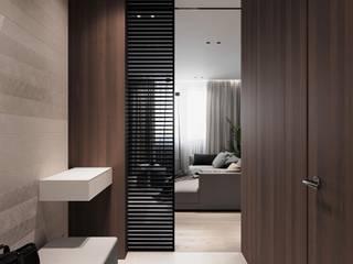 ELGRES Коридор, прихожая и лестница в стиле минимализм от АРТ УГОЛ Студия архитектуры и дизайна Минимализм
