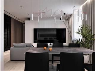 ELGRES Гостиная в стиле минимализм от АРТ УГОЛ Студия архитектуры и дизайна Минимализм