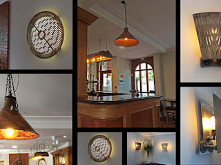 Lighting commission for Bathams Brewery de it's a light Ecléctico