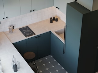 Minimalist kitchen by Suiten7 Minimalist