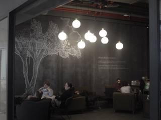 SARGRUP İNŞAAT VE ENERJİ LTD.ŞTİ. – VIROC fibercement duvar kaplama - Dijital baskı: minimalist tarz , Minimalist