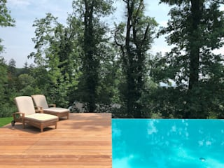 Kirchner Garten & Teich GmbH Infinity Pool White