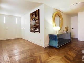 Proyecto de reforma integral, interiorismo y decoración de amplia vivienda en Valladolid de MEDITERRANEAN FUSION S.L. Ecléctico