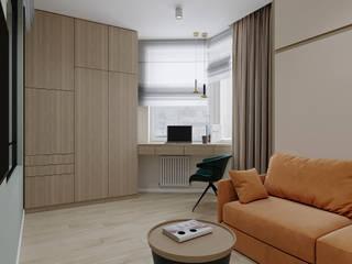 Scandinavian style study/office by дизайн-бюро ARTTUNDRA Scandinavian