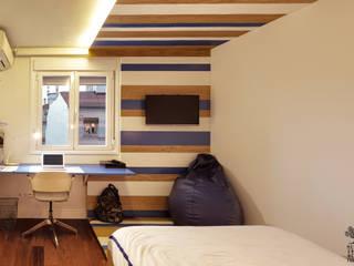 Proyecto de reforma, interiorismo y decoración de vivienda con concepto abierto en el centro de Valladolid de MEDITERRANEAN FUSION S.L. Moderno