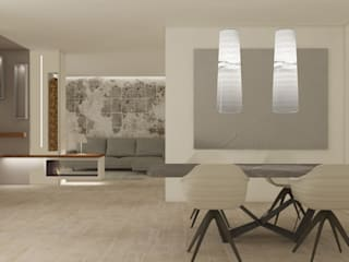 Villa a Varese Silvana Barbato Sala da pranzo moderna