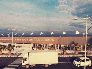 Estadio de Beisbol y Sóftbol de Arica : Casas de estilo  por BDARCHITECT