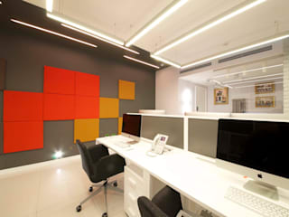 Study/office by os.architects, Minimalist
