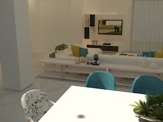 Living room by Casactiva Interiores