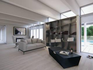 Casa en Quillota Comedores de estilo minimalista de Sebastian Ginsberg Arquitecto Minimalista
