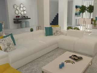 Moderner Flur, Diele & Treppenhaus von Casactiva Interiores Modern