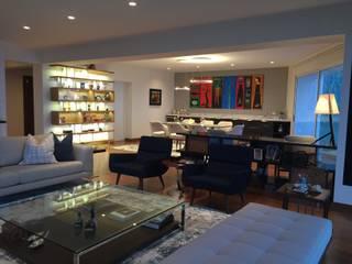 Modern living room by ai+d diseño by Claudia Triveño Modern