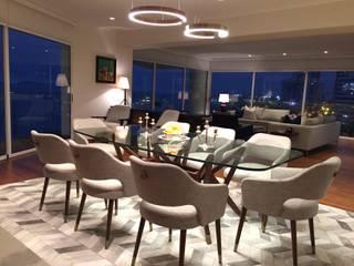 Modern dining room by ai+d diseño by Claudia Triveño Modern