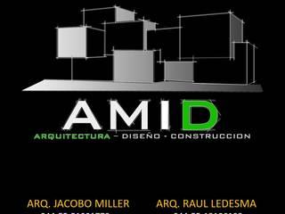 Casas estilo moderno: ideas, arquitectura e imágenes de AMID Moderno