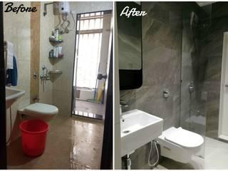 Baños de estilo moderno de Shreya Bhimani Designs Moderno
