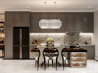 Asian style kitchen by ICON INTERIOR Asian