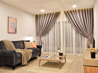 Of White Whites and Dew Gray by Infini Home Concept Sdn. Bhd. Colonial