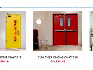 Cửa chống cháy:   by Công ty Cổ Phần Trang Trí Nội Thất Đồng Tâm