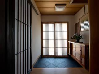 長野のリノベーション 和風の 玄関&廊下&階段 の DIGDESIGN 和風