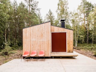 politaire Wooden houses Wood Multicolored