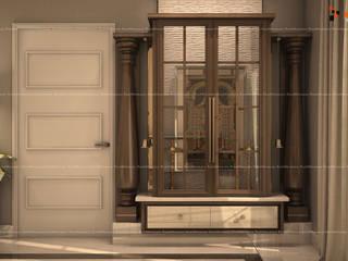 Fabmodula Nowoczesny korytarz, przedpokój i schody