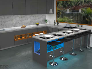 Modern kitchen by Pedro Figueiredo 3D Design Modern