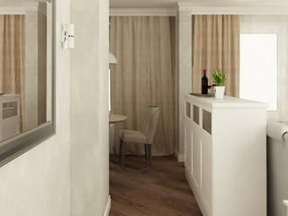 Дизайн интерьера трехкомнатной квартиры (ЖК Гринада):  в . Автор – Лана Веригина ,