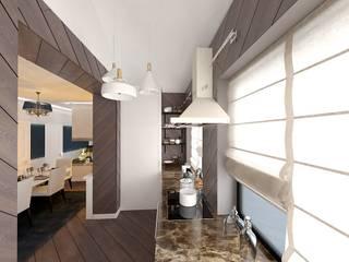 Дизайн интерьера загородного дома ( г.Истра) : Кухни в . Автор – Лана Веригина ,