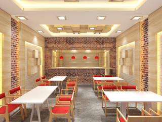 TATLICI/KAFE TASARIMI Modern Çalışma Odası Sanal Mimarlık Hizmetleri Modern