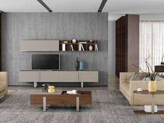 Decordesign Interiores 客廳電視櫃 刨花板 Wood effect