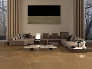 Modern Living Room by Interceramic MX Modern