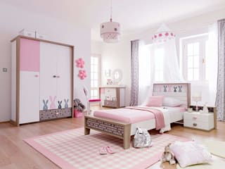 اثاث مصر Nursery/kid's roomBeds & cribs Chipboard Pink