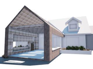 Terraza Casa Los Ángeles BOHE Arquitectura