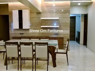 Residential Apartment Shree Om Furnitures Living roomTV stands & cabinets