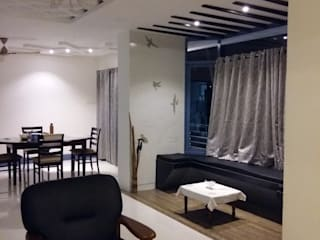 Modern independent house @ Port Blair:  Dining room by SUSOBHITA,