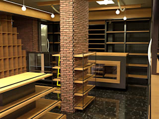 Tobacco Miller Concept Cemile Ozkan Kayacik Mimarlik Ofisi Rustik