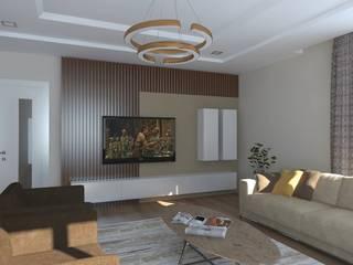 Minimalist living room by Asya Yapı İçmimarlık Minimalist