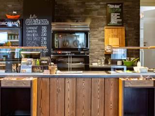 Interior Design Mellows Osnabrück Rustikale Gastronomie von design studio von dieken Rustikal