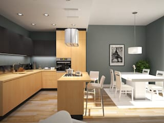 Kitchen by GLOBALO MAX, Modern