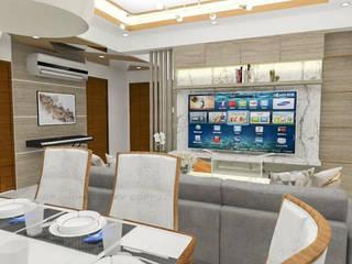 3- Bedroom Condominium Unit by Corpuz Interior Design Modern