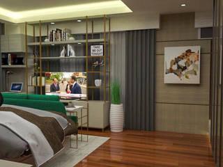 3- Bedroom Condominium Unit Modern style bedroom by Corpuz Interior Design Modern