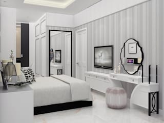 DSL Studio BedroomAccessories & decoration Textile White