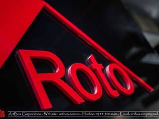 Thiết kế nội thất showroom ROTO Thiết Kế Nội Thất - ARTBOX