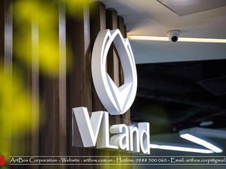 Thiết kế nội thất văn phòng bất động sản V-Land Thiết Kế Nội Thất - ARTBOX