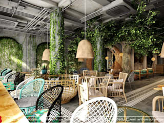 Thiết kế nội thất quán cafe TUY'S COFFEE Thiết Kế Nội Thất - ARTBOX